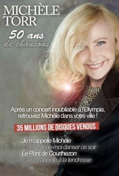 MICHELE TORR : 50 ANS DE CHANSONS